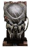 Alien vs. Predator Replik 1/1 Battle Damaged Celtic Predator Maske 50 cm