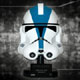 501st Legion Trooper Helmet Scaled Replica