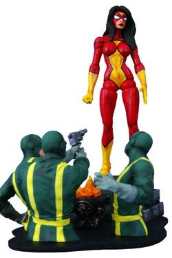 Marvel Select Actionfigur Spider-Woman 18 cm